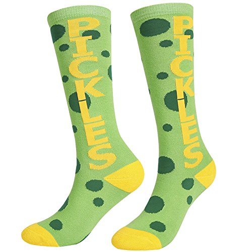 Funny Knee High Casual Socks,Unisex Funky Novelty Fashion Colorful For Gift Sports 2 or 4 Pairs,