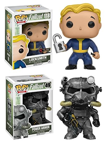 Funko Pop pack Power Armor + Locksmith (Fallout 4) Funko Pop Fallout