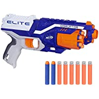 Nerf Elite Disruptor Pistola Dardos 31cm Doble, única (Hasbro E0391EU4)