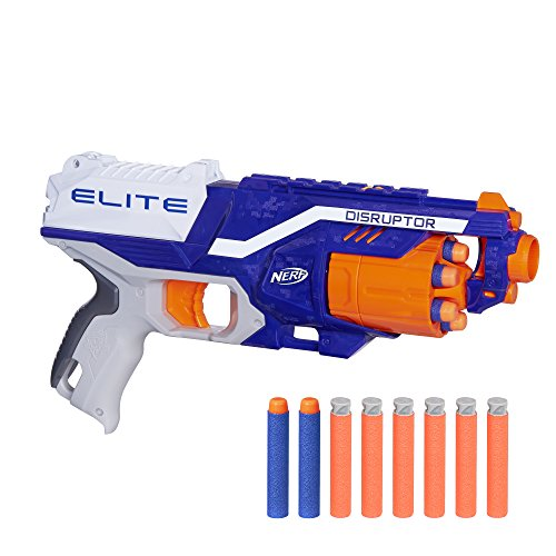 Nerf Elite Disruptor Pistola Dardos 31cm Doble, única Hasbro E0391EU4