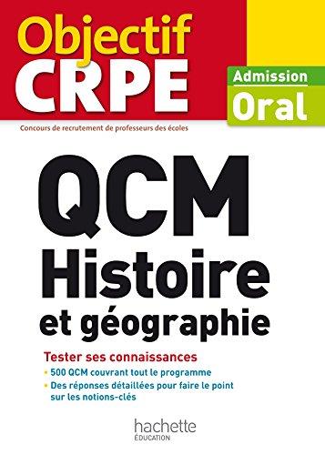 QCM CRPE : Histoire et géographie
