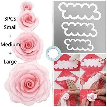 Lot de 11 emporte-pi/èces en forme de rose pour mariage SC164