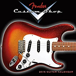 Fender Custom Shop: 2016 Mini Wall Calendar