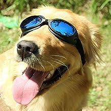 c3d8453832b9a Lunettes de chien pour animal domestique Bleu Lunettes de soleil