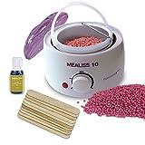 ♥ MEALISS 10 - 4in1 Komplett Waxing-Set ♥ Brazilian Waxing - Elektrischer Wachswärmer -...
