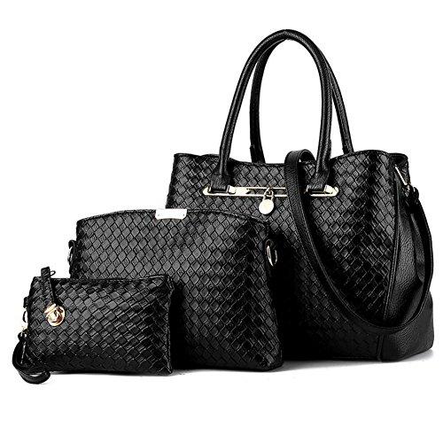 be-life-womens-fashion-pu-leather-tote-handbag-shoulder-bag-purse-3pcs