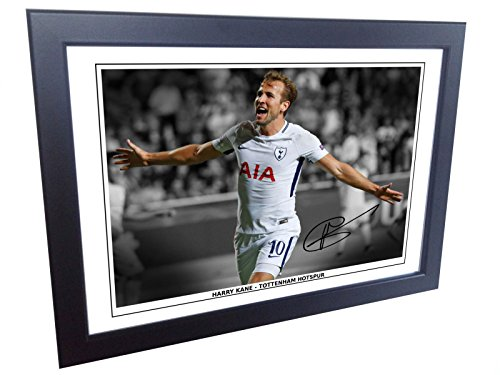 7×5-Signed-Harry-Kane-Tottenham-Hotspur-Spurs-Autographed-Photo-Photograph-Picture-Frame-Gift