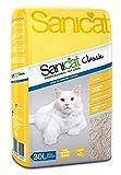Sanicat Classic Absorbent Cat Litter, 30 Litre