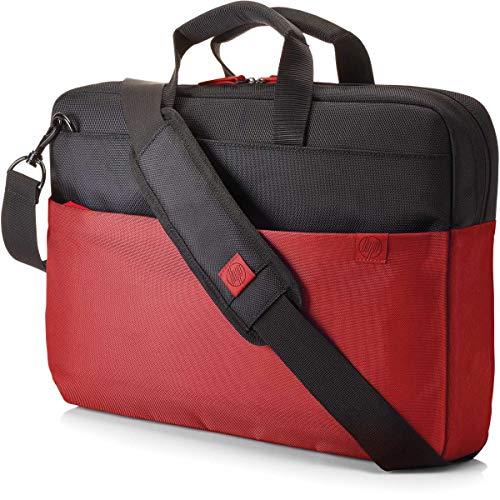 HP Duotone Brief Case Borsa per Notebook Fino a 15.6', Rosso/Nero