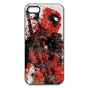 Coque iphone 5s Silicone, Etui iphone 5s Chic, iphone 5 Cover, iphone 5s Case, Cas Deadpool Pour iphone 5 5s 5g