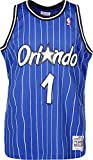 Mitchell & Ness Anfernee Hardaway #1 Orlando Magic 1994-95 Swingman NBA Trikot Blau, S