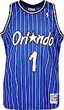 Mitchell & Ness Anfernee Hardaway #1 Orlando Magic 1994-95 Swingman NBA Trikot Blau, M