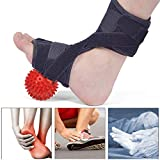 Piede goccia ortesi con sfera di massaggio, piede di sostegno di arco, Massaggiatore plantare, rilievi del tallone, Ankle Brace, alleviare il dolore del piede e metatarso Pain