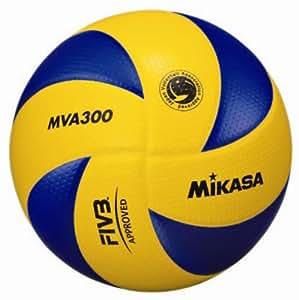 MIKASA MVA 300 - Pallone da pallavolo, colore: Multicolore, gr. 5