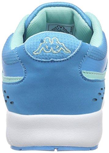 Kappa Milla Footwear Women, Synthetic/Mesh, Scarpe da Ginnastica Donna Blu (Blue (6637 tuerkis/mint))