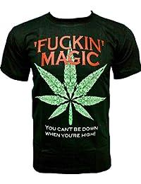 Rock Chang T-Shirt * Fuckin Magic * Glow In The Dark * Noir GR276