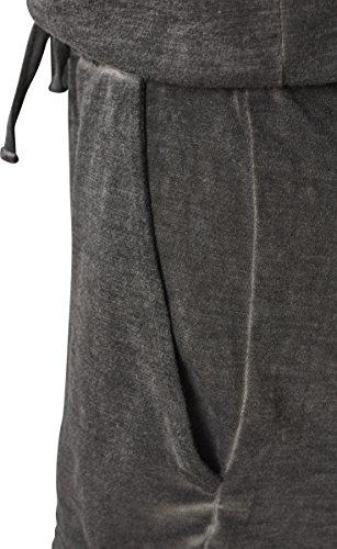 Urban Classics Damen Jumpsuit Ladies Cold Dye Short, Grau (Grey 00111), Large (Herstellergröße: L) - 4