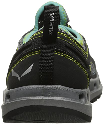 Salewa Ws Swift, Chaussures Multisport Outdoor Femme Noir (Black Out/Swing Green_0498)