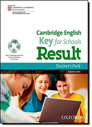 Cambridge English: Key for Schools Result: KET Result For Schools Teacher's Book Pack