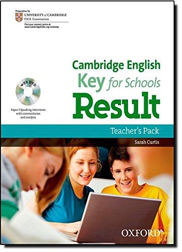 Cambridge English: Key for Schools Result: Key English Test Result for Schools: Teacher's Book Pack (KET Result for Schools)