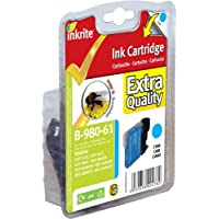 Inkrite Printer Ink For Brother Dcp145c Dcp165c - Lc61 Lc980 Lc65 Lc1100 Cyan (bumblebee) - NGSBC980-61u