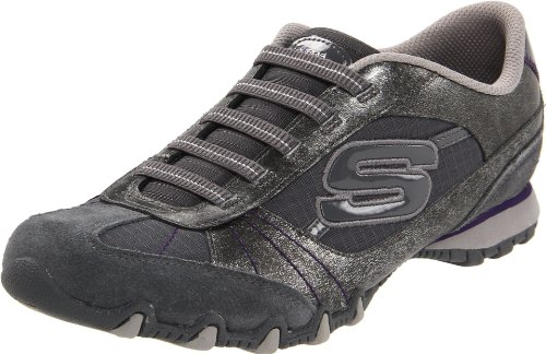 Skechers Bikers Vexed 22037, Sneaker donna Grigio (Grau (CCL))