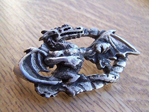 Dragon Pin Solapa Metal broche ideal para juego de tronos aficionados mítico Magic gótico broche libre Reino Unido POST peltre insignia celta Irlandés Escocés galés Pagan
