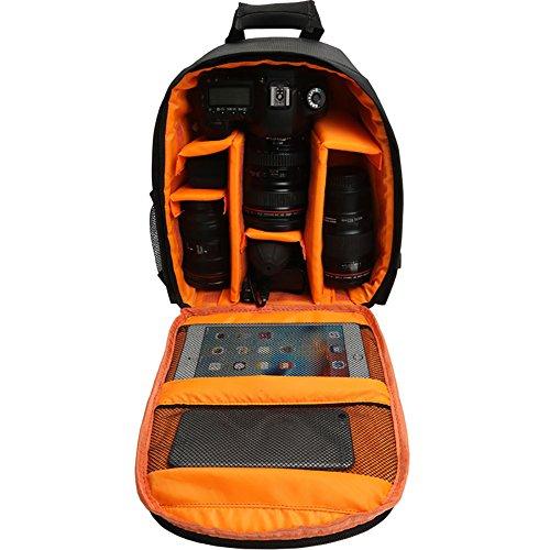 Sukisuki Outdoor Wasserdicht Kamera Rucksack Digital DSLR-Schulter-Tasche für Canon Nikon Nikon Coolpix Point