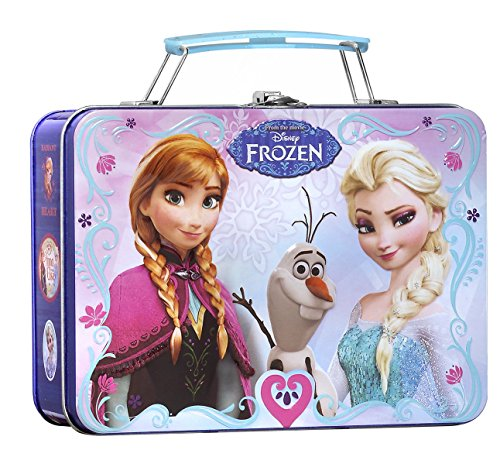 Air-Val Disney Frozen/Die Eiskönigin/Geschenk-Set Eau de Toilette Parfum Spray 100 ml plus Metallkoffer - für Kinder, 1 Stück