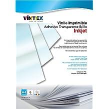 Vinilo Adhesivo Imprimible Blanco Brillo - Impresora Tinta (PREMIUM) - VINTEX (6)