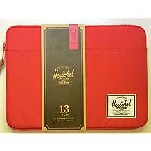 Herschel Supply Co. Anchor Fundas para MacBook Pro de 13pulgadas rojo