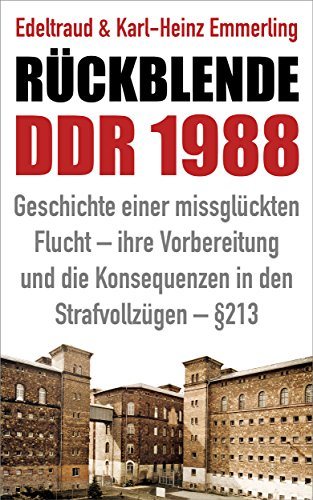 Rückblende DDR 1988: Geschichte einer missglückten Flucht - ihre Vorbereitung und die Konsequenzen in den Strafvollzügen - §213