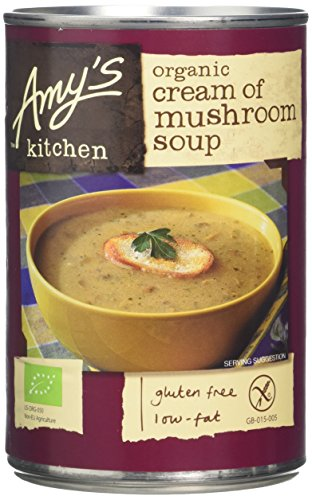 Amys Kitchen Mushroom Soup 400 g (Pack of 6)