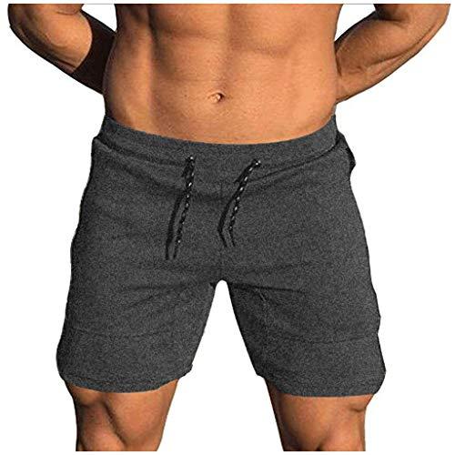 Beikoard Herren Shorts Trainingsshorts Neuer 2019 Sommer Schweißabsorbierende atmungsaktive Shorts Sport Kurze Hose Sweatpant Fitness Shorts