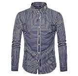 Luckycat Herren Langarm Oxford Formelle beiläufige Anzüge Slim Fit T-Shirt Hemden Bluse Top Mode 2018