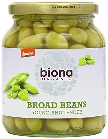 Biona Organic Broad Beans 350 g (Pack of 6)