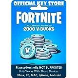 Fortnite 2800 V-Bucks Gift Card Code Only (NO CD/DVD)