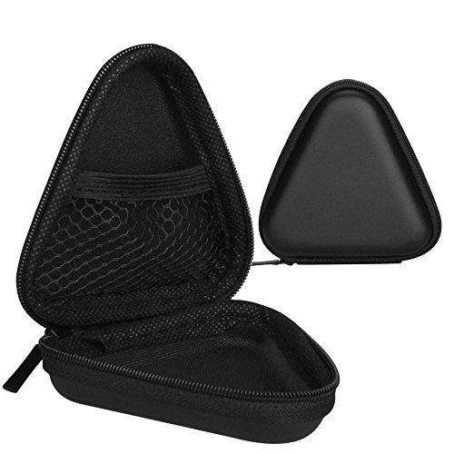 Olycism EVA Stoßfest Tragbare Muschelschale Kasten für MP3 Player, iPod Nano, Kopfhörer, USB-Kabel und andere Elektronik-Zubehör