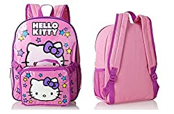 Hello Kitty Full Size Backpack with Detachable Lunch Bag Set