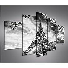 De Imágenes sobre lienzo Torre Eiffel V8Paris MF XXL Póster Lienzo Cuadro de decoración salón Marca Islandburner