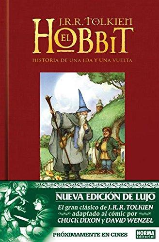 Descargar Libro El Hobbit Edición Lujo (CÓMIC USA) de Chuck Dixon y David Wenzel J.R.R Tolkien