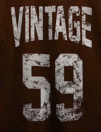 Vintage 1959 T-Shirt Braun