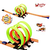 #7: Wembley Max Speed Track Set Super Crazy Five 360º Loops and Fast Pull Back Rotating Car