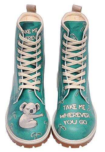 Dogo Boots Koala – Damen-Stiefel & Stiefeletten - 6