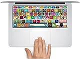 """Macbook Keyboard Decal Macbook Keyboard Stickers Skin Logos Cover Macbook Pro Keyboard Decal Skin Macbook Air Sticker Keyboard Macbook Decal For Macbook Pro/Air 13"""" 15"""" 17"""""""