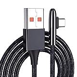 Câble USB De Type C, Câble USB Tressé en Nylon De Type 90 À C3.0 pour Mate 20 / P20, Nexus 5X Samsung Note 9 S9 Nexus 6P, Drone Mavic Pro DJI Et Autres Périphériques De Type C,B,3.3FT