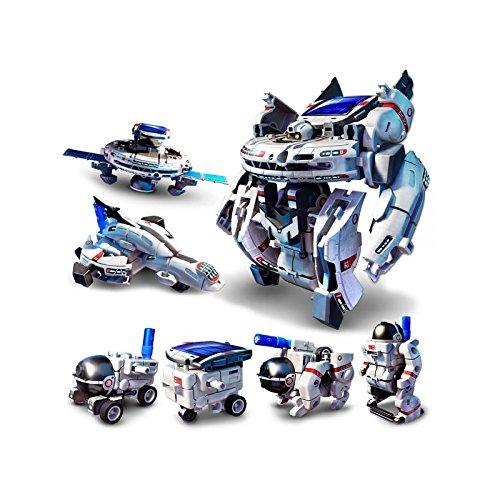 RCTecnic Kit Solar 7 en 1 de Robots Para Montar Set de...