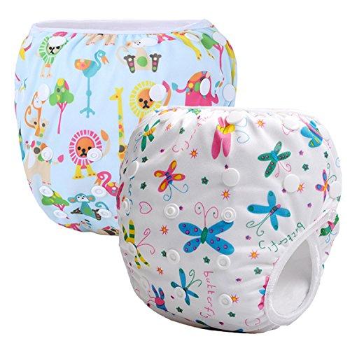 Storeofbaby Schwimmwindeln wiederverwendbare waschbare Tuch Abdeckung Neugeborenen Windeln