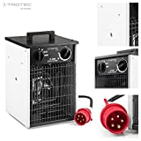 TROTEC 1410000017 TDS 30 Elektroheizer  5,5 kW mit Thermostat Überhitzungsschutz  2 Heizstufen