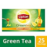 #8: Lipton Honey Lemon Green Tea Bags, 25 Tea Bags
